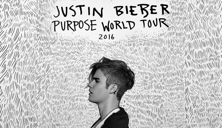 Justin Bieber Purpose Tour Guide: Setlist, Openers, Merchandise