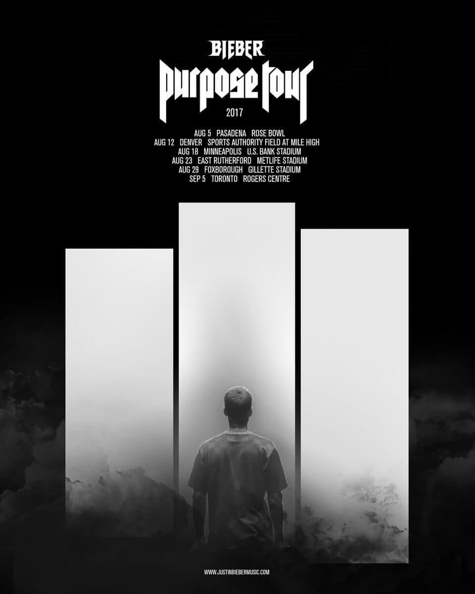 Ellen Degeneres Tickets >> Justin Bieber Purpose Stadium Tour Guide: Setlist, Tour Dates