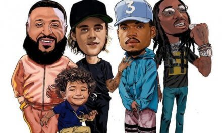 "Stream DJ Khaled ""No Brainer"" Featuring Justin Bieber, Chance the Rapper & Quavo"