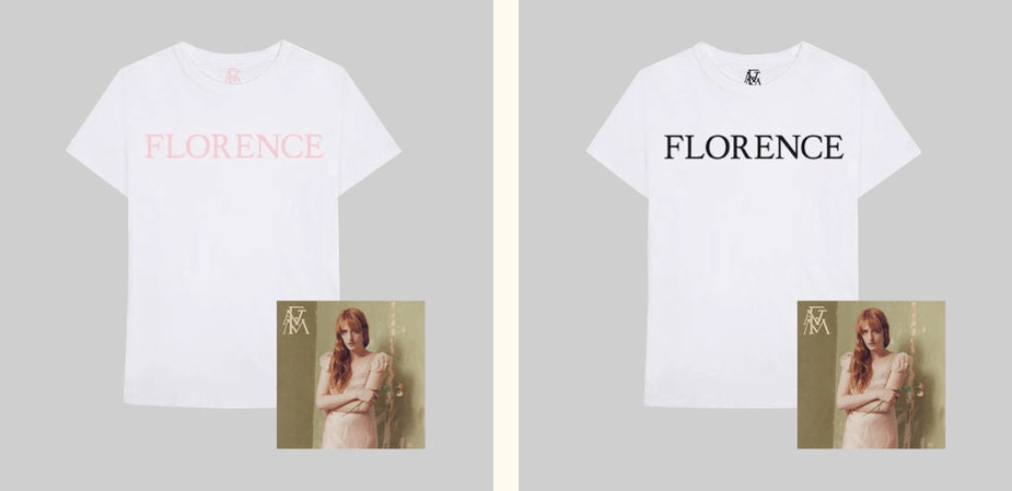 florence and the machine merch