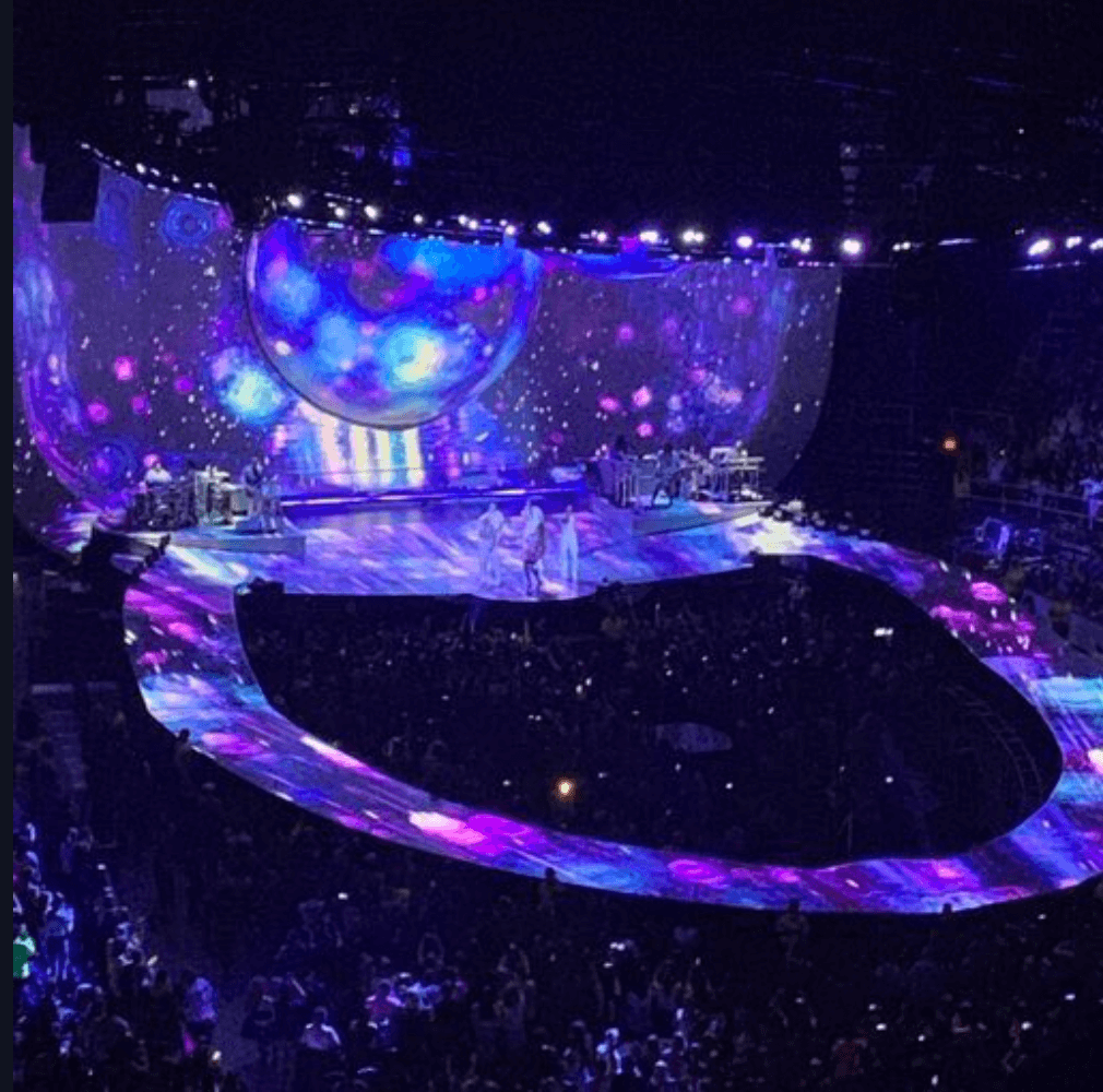 Image result for ariana sweetener tour stage