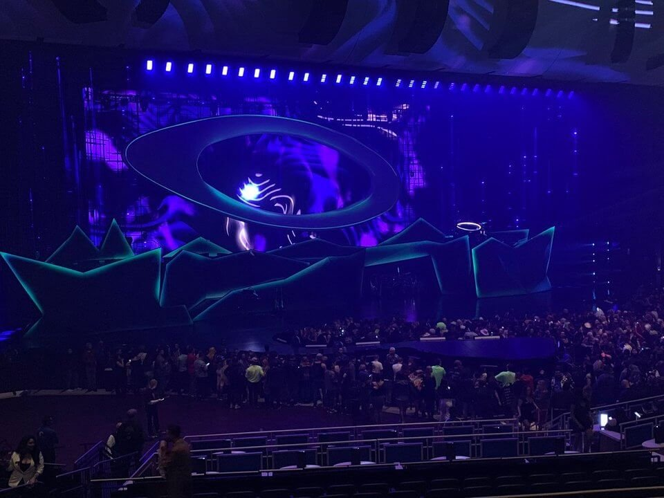 lady gaga enigma stage